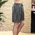 Romwe Men Striped Sleep Shorts