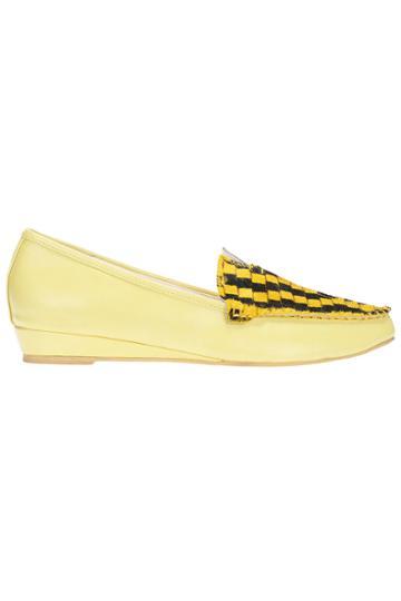 Romwe Romwe Snakeskin Print Flat Shoes