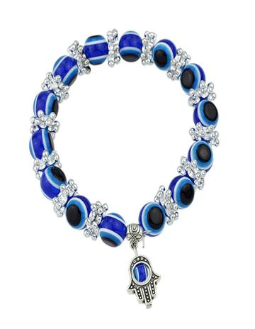 Romwe Fashion New Jewelry Cheap Blue Latest Beads Bracelet