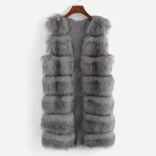Romwe Solid Open Front Vest