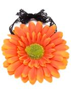 Romwe Orange Flower Beach Bracelet