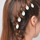 Romwe Shell Decorated Hair Ring Set 5pcs