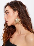 Romwe Star Design Drop Earrings