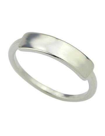 Romwe Silver Latest Punk Style Simple Women Fashion Ring