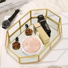 Romwe Polygon Design Jewelry Storage Tray 1pc