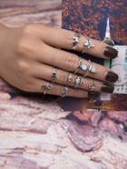 Romwe Vintage Ring 10pcs
