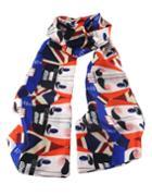 Romwe Fashion Colorful Silk Knitted Lady Scarf