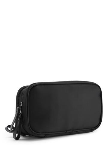 Romwe Double Layers Zipper Cosmetic Bag