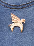 Romwe Horse Shaped Cute Brooch