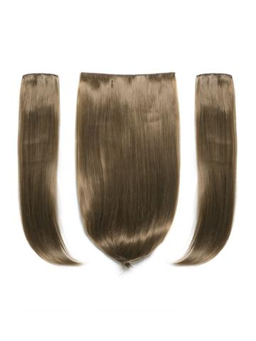 Romwe Harvest Blonde Clip In Straight Hair Extension 3pcs