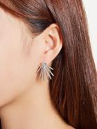 Romwe Metal Rays Shaped Ear Jacket 2pcs