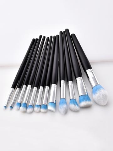 Romwe Soft Bristle Professional Makeup Brush Set 12pcs