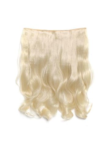 Romwe Pure Blonde Clip In Soft Wave Hair Extension