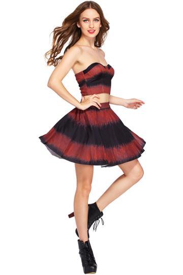Romwe Romwe Cobweb Skirt