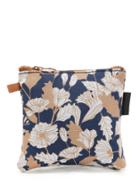 Romwe Flower Print Mini Storage Bag