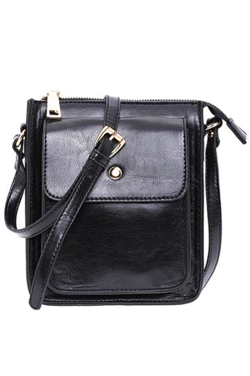 Romwe Romwe Mini Black Bag