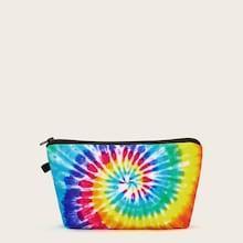 Romwe Tie Dye Makeup Bag