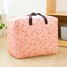 Romwe Cherry Overlay Print Large Storage Bag