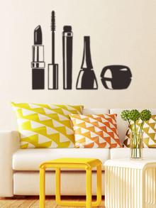 Romwe Makeup Tool Wall Decal