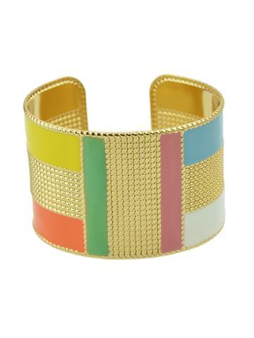 Romwe Borange Steampunk Cuff Bracelets Bangles