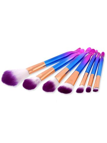 Romwe Ombre Delicate Cosmetic Brush 7pcs