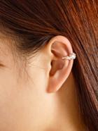 Romwe Rhinestone Delicate Ear Cuff 1pc