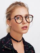 Romwe Vintage Clear Lens Glasses