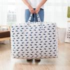 Romwe Dolphin Overlay Print Large Storage Bag