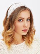 Romwe Lace Crochet Twist Headband