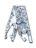 Romwe Leopard Pattern Scarf