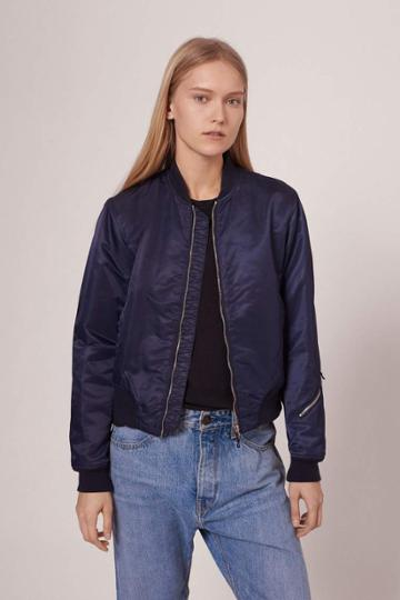 Rag & Bone - Morton Bomber Jacket - Navy - Xxs