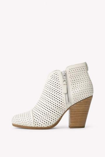 Rag & Bone - Margot Boot - White Perforated - 35 / 5