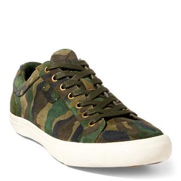 Polo Ralph Lauren Geffrey Camo Suede Sneaker
