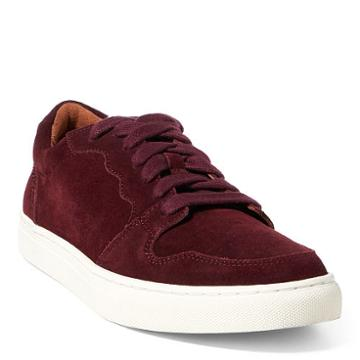 Polo Ralph Lauren Jeston Suede Low-top Sneaker