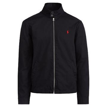 Polo Ralph Lauren Cotton Twill Jacket Polo Black