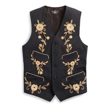 Ralph Lauren Rrl Cotton-wool Waistcoat