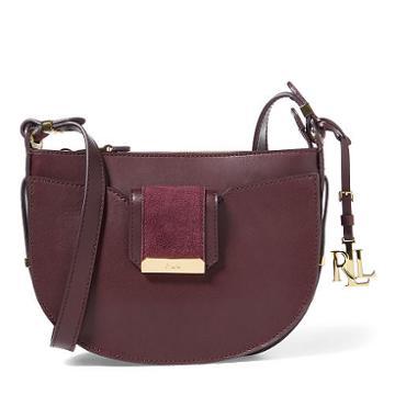 Ralph Lauren Lauren Leather Leah Crossbody Bag