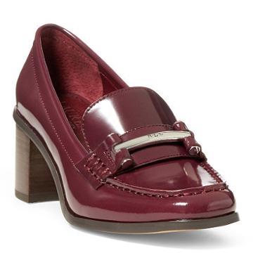 Ralph Lauren Lauren Dalena Leather Loafer