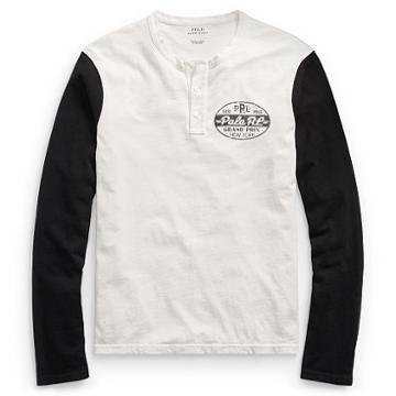 Polo Ralph Lauren Custom Slim Fit Cotton Henley