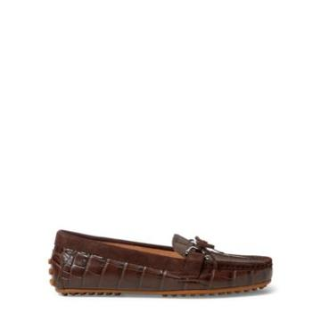 Ralph Lauren Leather Loafer Dark Brown