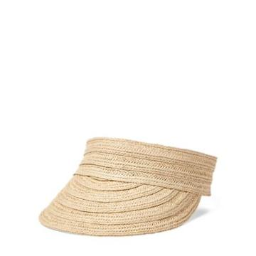Ralph Lauren Straw Visor Natural