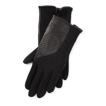 Ralph Lauren Sheepskin Tech Gloves Black