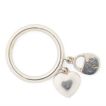Ralph Lauren Heart-lock Charm Ring