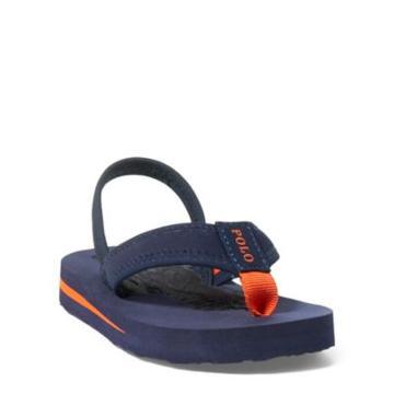 Ralph Lauren Geo Flip-flop Navy/orange