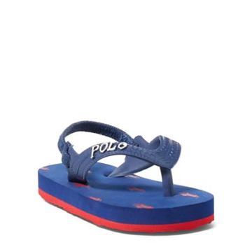 Ralph Lauren Camino Flip-flop Navy/red