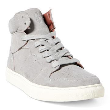 Polo Ralph Lauren Jory Suede High-top Sneaker