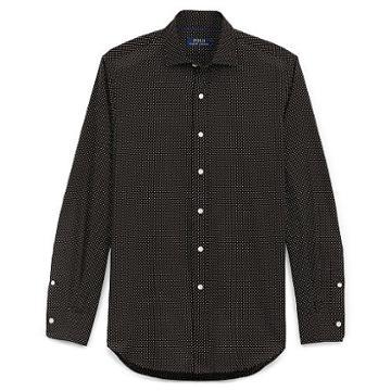Polo Ralph Lauren Standard Fit Cotton Shirt Mini Dot