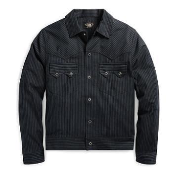 Ralph Lauren Rrl Cotton-wool Western Jacket