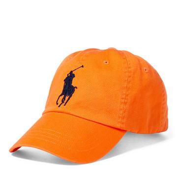 Polo Ralph Lauren Cotton Chino Sports Cap Orange Peel