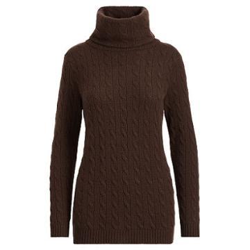 Polo Ralph Lauren Cable-knit Cashmere Turtleneck
